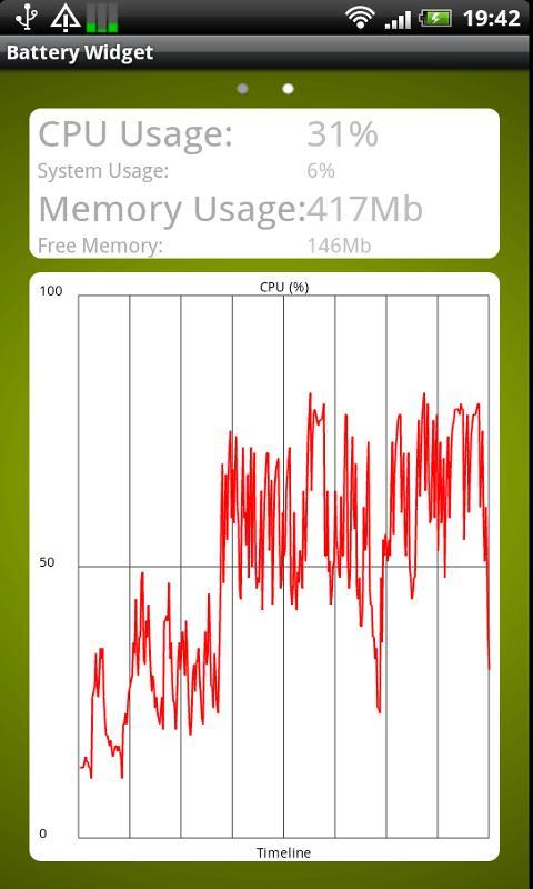 Battery Widget- screenshot