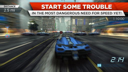 Screenshot for Need for Speed™ Most Wanted in Hong Kong Play Store