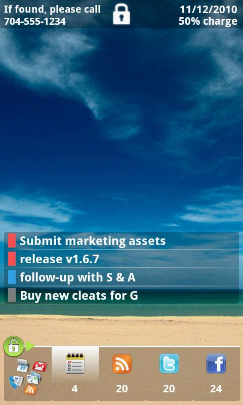 Exec Assist Tasks Add-on - screenshot