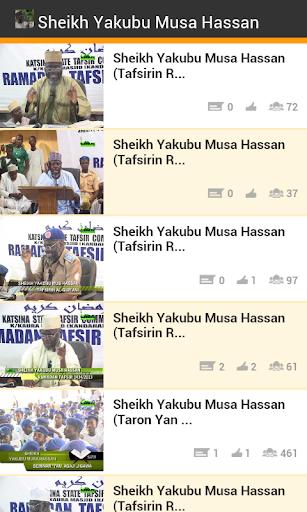 Sheikh Yakubu Musa Tafseer