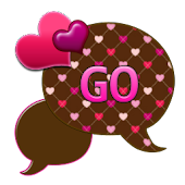 GO SMS THEME/ChocolateHearts1