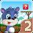 Fun Run 2 - Multiplayer Race logo