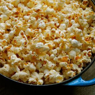 Popcorn Popped in Bacon Fat