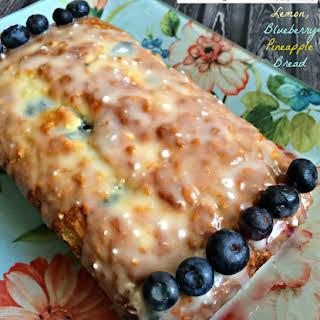 Pineapple Blueberry Cake.