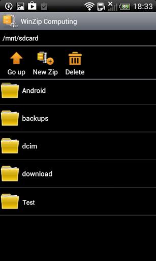 WinZip - Easily Open Zip Files APK 1.1.1