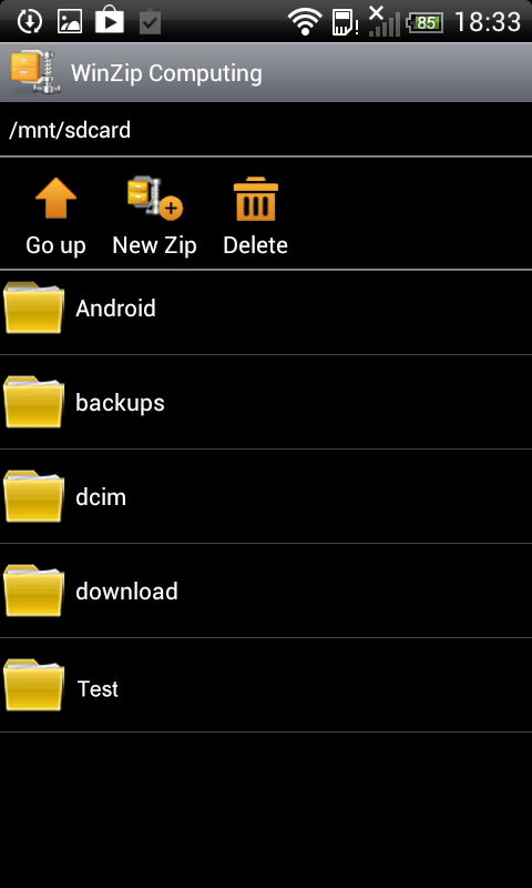 WinZip - Easily Open Zip Files - screenshot