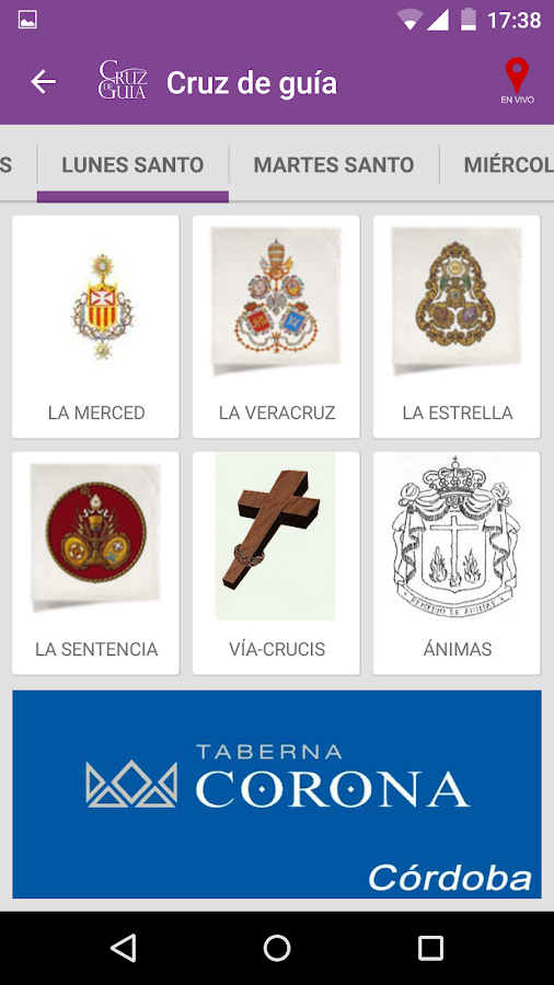 Semana Santa Córdoba C.De Guía- screenshot