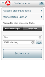 JOBBÖRSE Screenshot