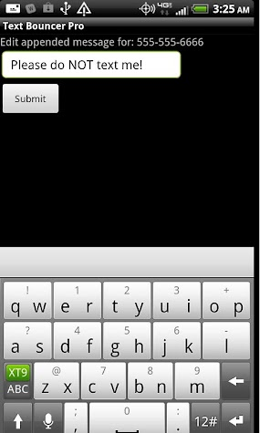 Text Bouncer Pro Screenshot