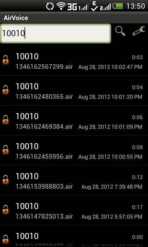 AirVoice - screenshot