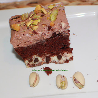 Italian Style Chocolate Dream Cannoli Cake.