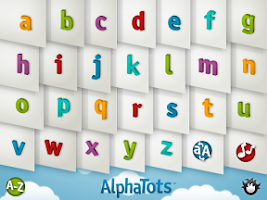 Screenshot of AlphaTots Alphabet