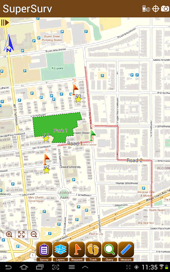 SuperSurv Lite --GIS App- screenshot