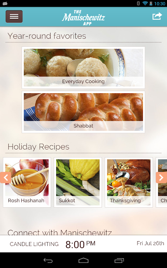 Manischewitz Recipes&Holidays - screenshot