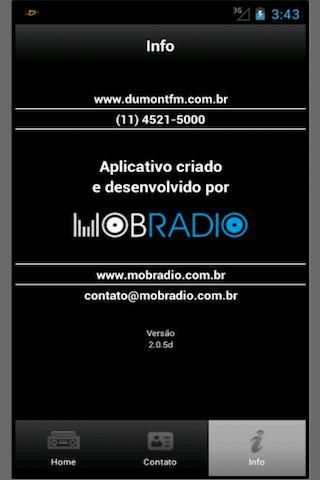 Radio Dumont FM - screenshot