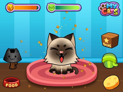 玩免費教育APP|下載My Virtual Cat - Cute Kittens app不用錢|硬是要APP