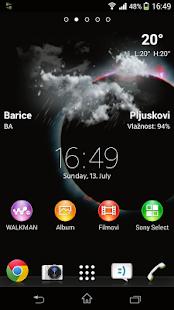 Lockscreen Weather Widget - screenshot thumbnail