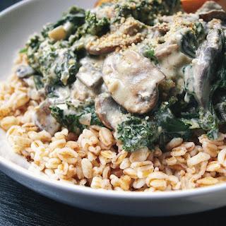 Kale & Mushroom Gratin
