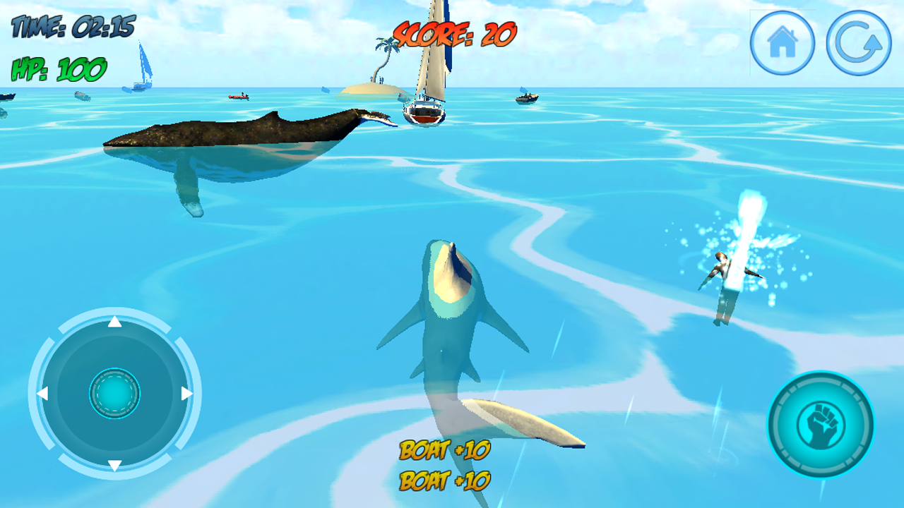 Shark Attack 3D Simulator Screenshot