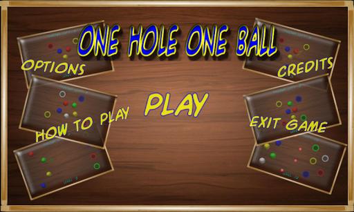 One ball One Hole