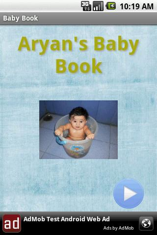 Baby book - screenshot
