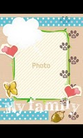 Screenshot of Scrapbooking Theme (Pets)