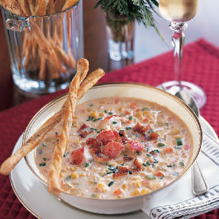 Corn and Lobster Chowder.