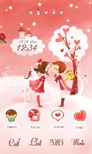 CUKI Theme Sweet Love
