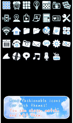 Cute Theme-Skywriter- 1.1 Windows u7528 4
