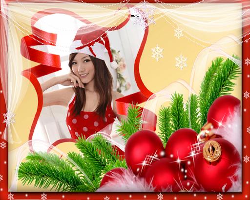 กรอบรูปคริสมาส กรอบรูป แต่งรูป
