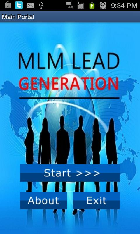 Generate Leads 4 Organo Gold - screenshot