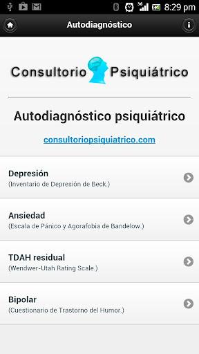 AutoDiagnóstico Psiquiátrico