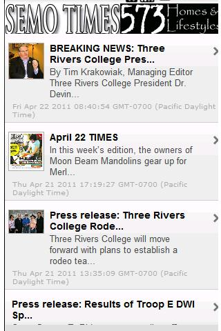SEMO TIMES - screenshot
