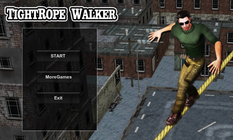 TightRope Walker 3D HD- screenshot