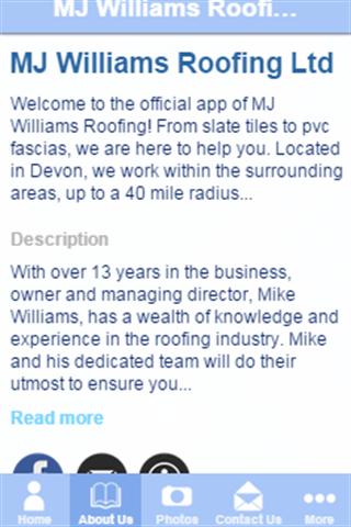 MJ Williams Roofing Ltd