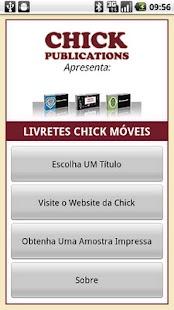 Livretes Chick: miniatura da captura de tela