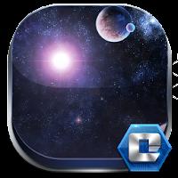 Galaxy Comet 3D Launcher Theme