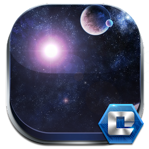 download GALAXY COMET 3D LAUNCHER THEME apk