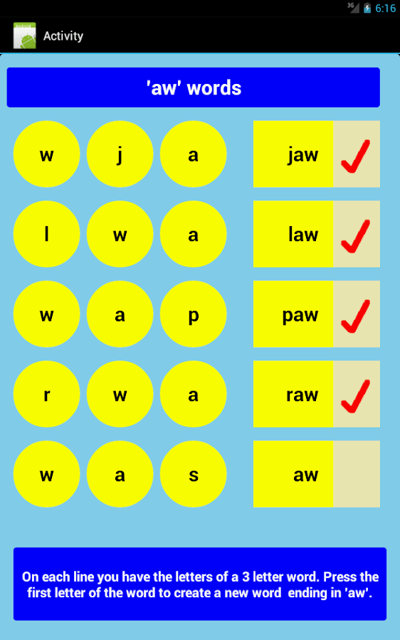 words that have the letters three letter words part 3 free android apps on play 40162