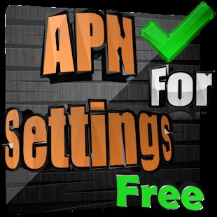 Apn Settings FREE