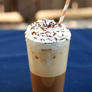 Blended Iced Coffee.
