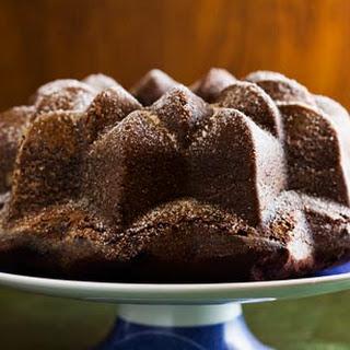 Chocolate Bourbon Cake.