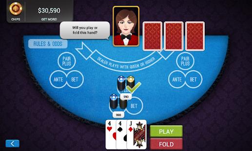3 Card Poker - Empire Casino