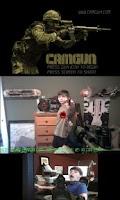Screenshot of CamGun Free Demo (Camera Gun)