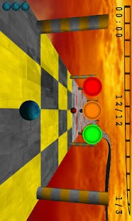 Skyball Lite (3D Racing game)- screenshot thumbnail