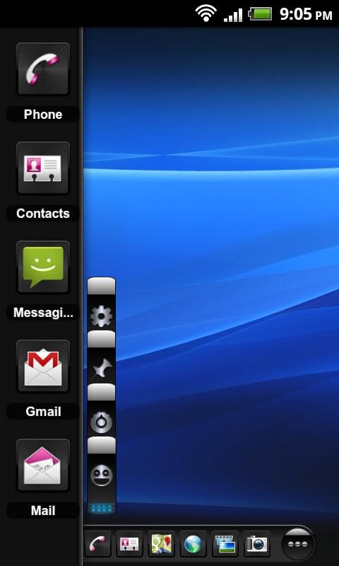 TSF Shell Theme Mexdroid HD - screenshot