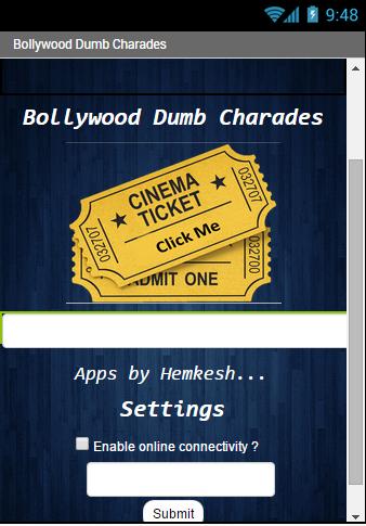 Bollywood Dumb Charades