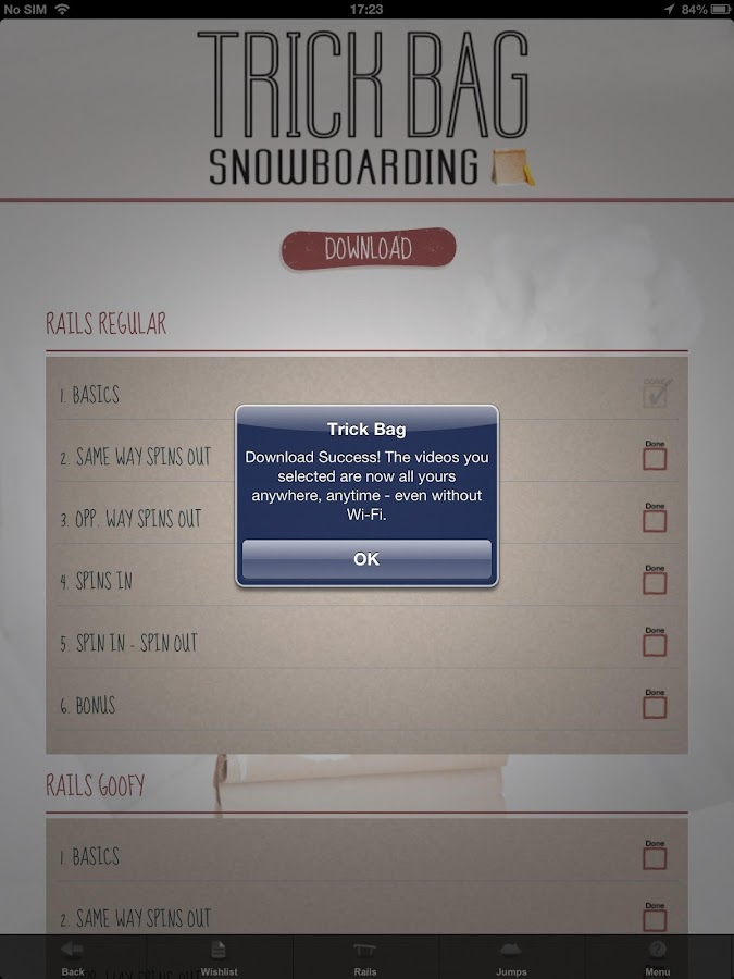 Trick Bag Snowboarding Free- screenshot