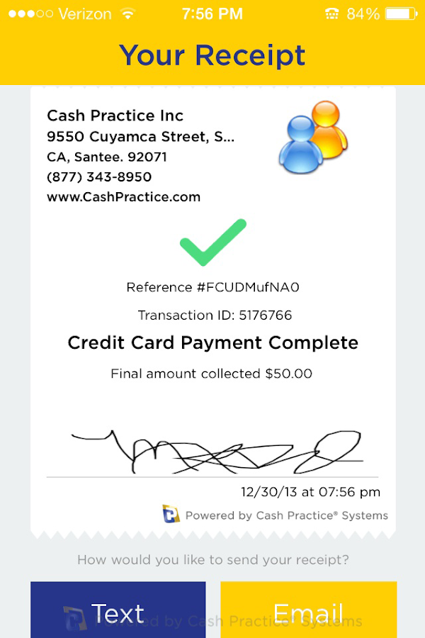 Cash Practice Mobile- screenshot