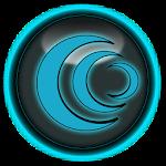 Blue Glass Icon pack v3.0.1
